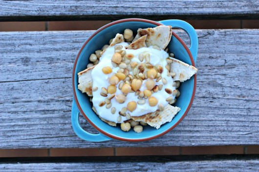 La recette de fatteh bi hummus