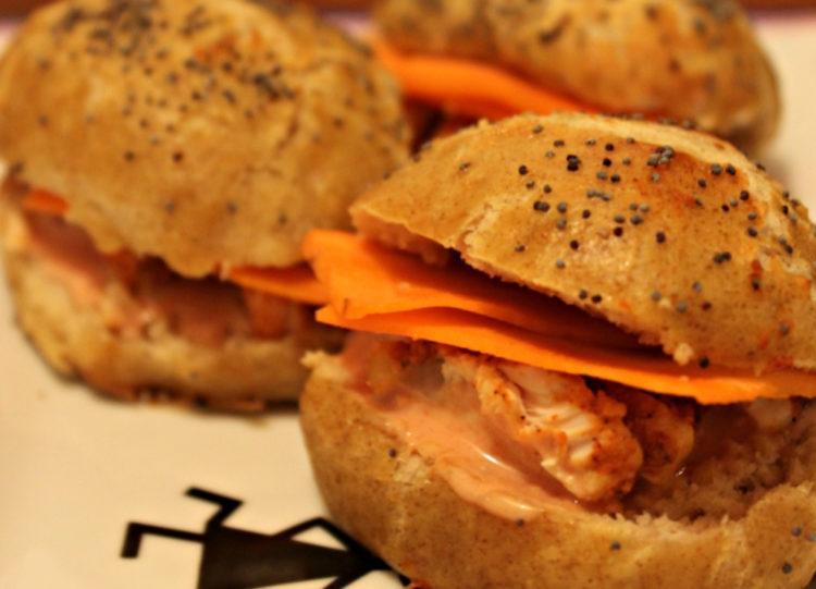 sandwich poulet tandoori carotte