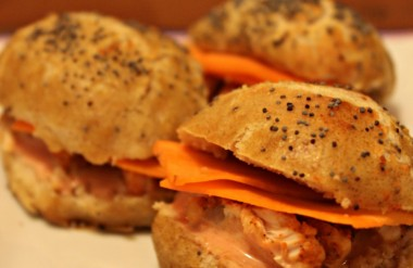 La recette des sandwichs tandoori