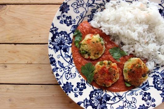 La recette du curry de boulettes végétariennes