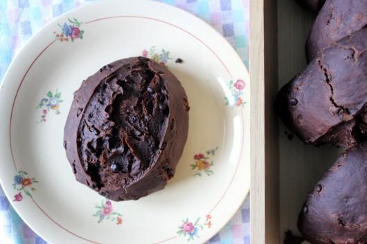 La recette des petits pains au cacao