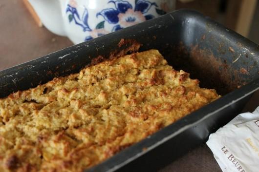 Pudding pommes et cannelle