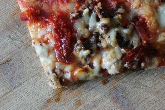 Pizza une pâte au levain