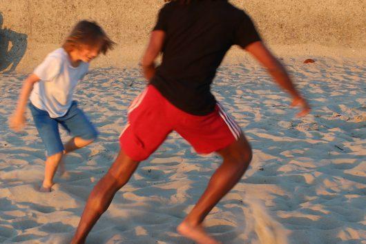 Jeux de plages à Gâvres