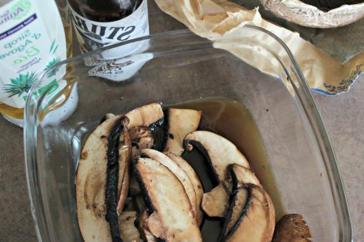 La recette du bacon de champignon