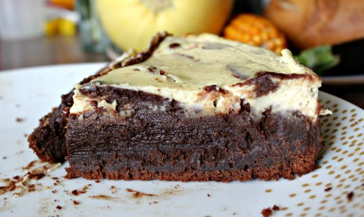 Le décadent brownie-cheesecake