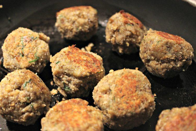 Recette de boulettes végétariennes aux champignons