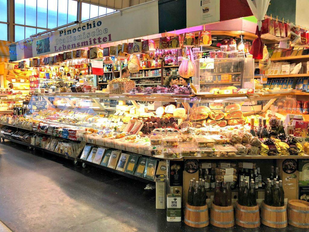 Le kleinmarkthalle de Francfort