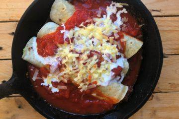 Tortillas avocat et tomate