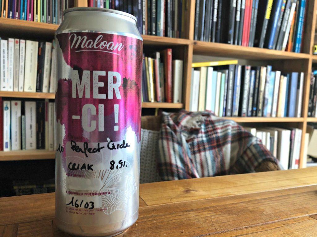 Les bières en canettes de Maloan