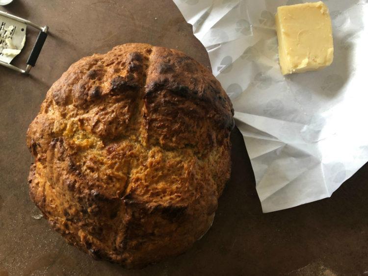 La recette du pain irlandais soda bread