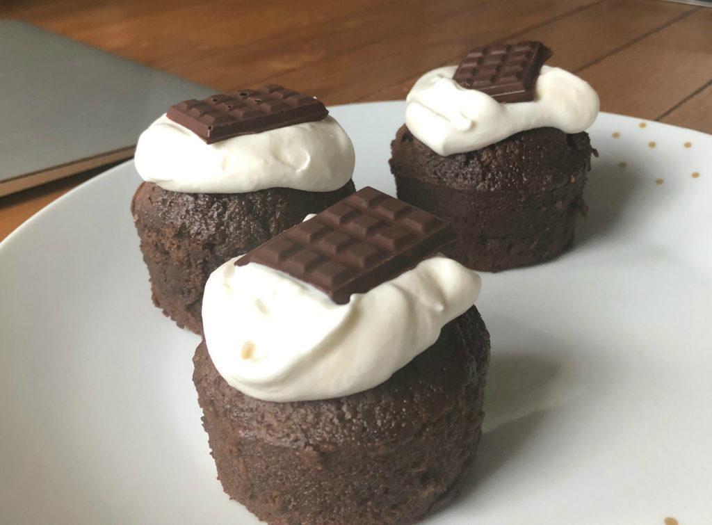 Muffins chocolat et Drao brune