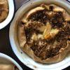 tarte aux pommes et flocons d'avoine