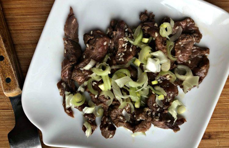 La recette des tataki de bœuf