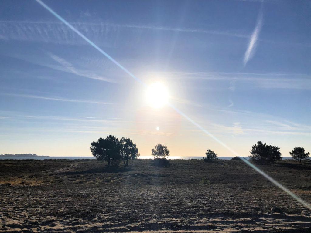 Lever de soleil à Plouharnel