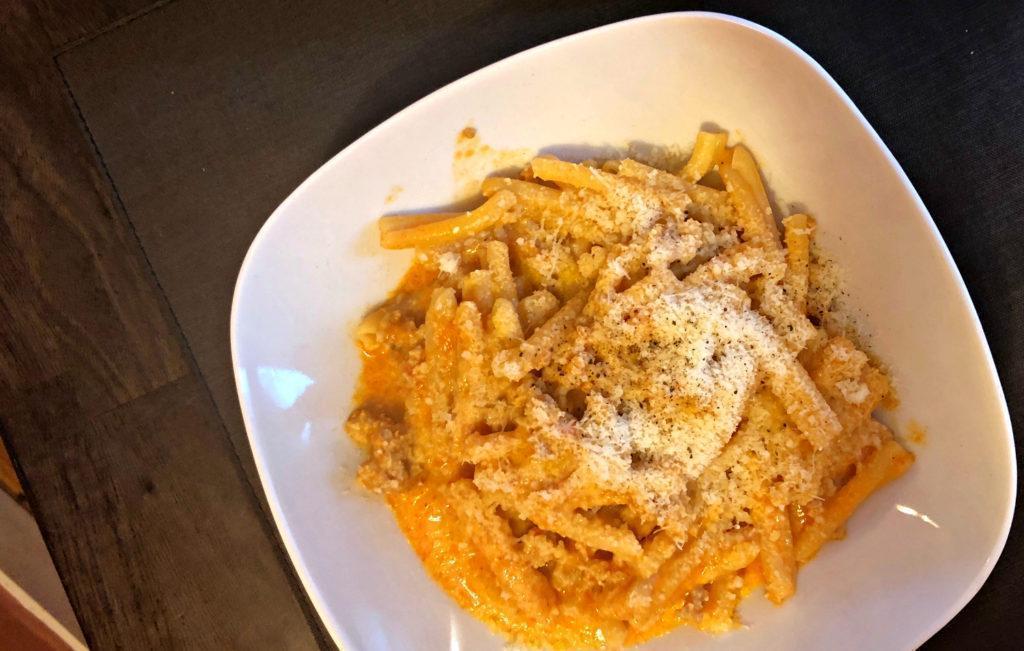 La pasta chez Divina Scarpetta