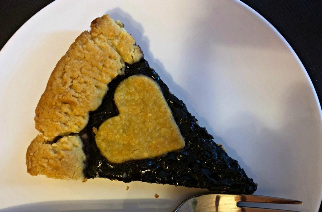 La tarte aux myrtilles de Divina Scarpetta