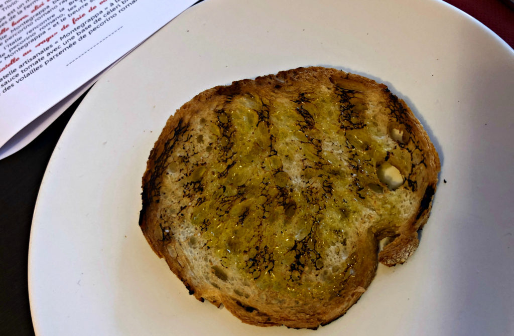 Toasts à l'huile d'olive Divina Scarpetta