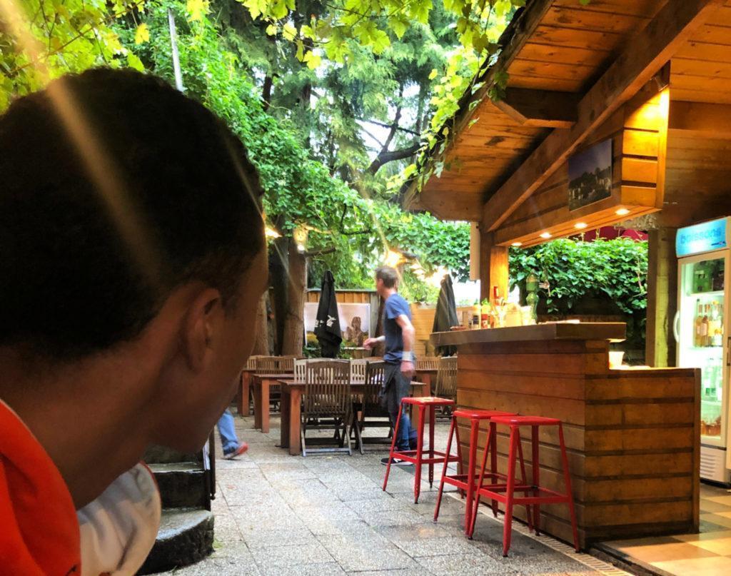 La pizzeria Helena à Carnac