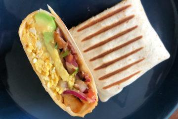 La recette du breakfast burrito