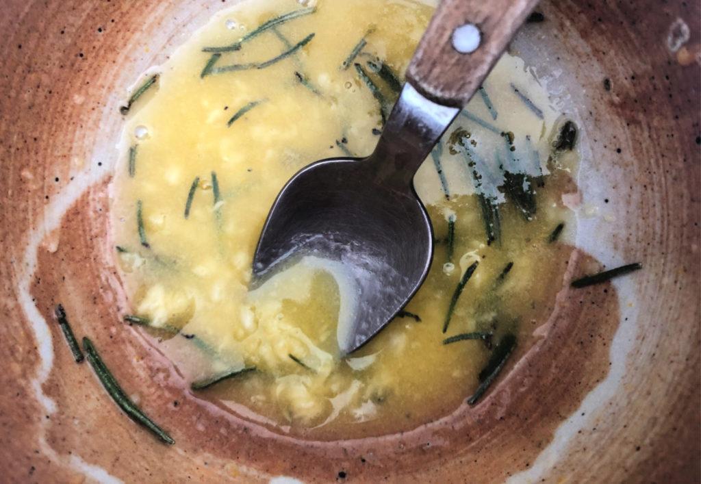Beurre pour les carottes rôties