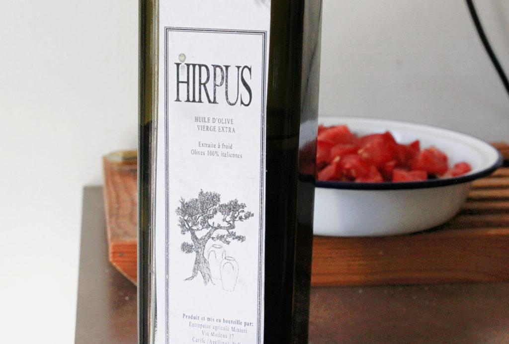 huile d'olive Hirpus